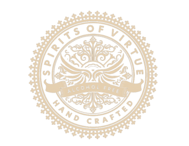 Spirits of Virtue Logo in Gold